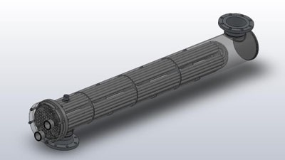 مبدل حرارتی پوسته و لوله مدل یو تایپ